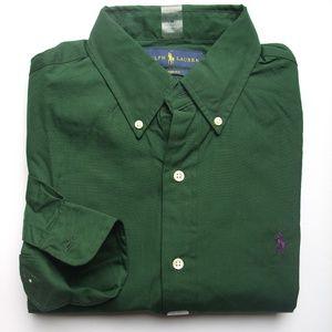 NEW Men's Ralph Lauren Shirt Custom Fit Size M